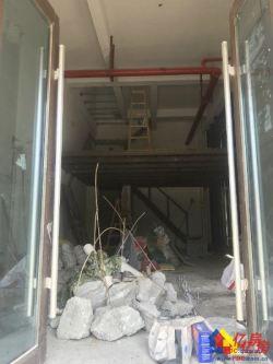 白沙洲花样年锦绣城开发商直售小区大门头铺层高6米