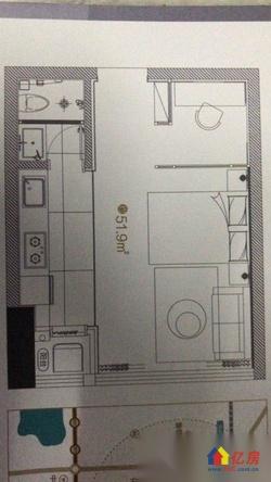 光谷关山创业街特价小户型公寓每平米1.48万,户户送阳台,