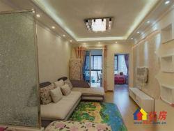 保利公馆方正朝南两房,新精装修,高层阳光可照到沙发