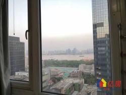 三阳路地铁口 三阳金城 精装江景二房 老证后期低 看房方便