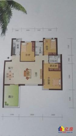 黄陂区 盘龙城 未来海岸 3室2厅2卫 123.01㎡