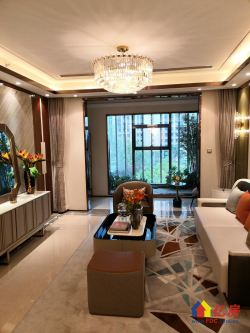 汉阳二环内,6号线地铁口,龙湖地产精装大三房,江滩公园对面