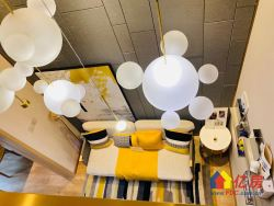和平大道五号线地铁口 绿地LOFT复式公寓 自带天然气不限购