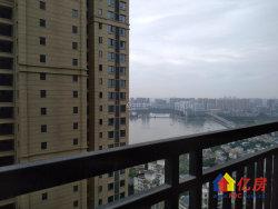 出门地铁8号线 中建南湖壹号园林小区125平3房 带观湖阳台