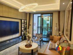 豪华大四房品牌地暖品牌中央空调有墙纸有电视背景双地铁中心城区