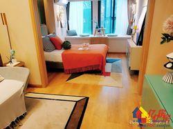 私聊有优惠,平层的价格买复试公寓,地铁口50米自带大型商业街