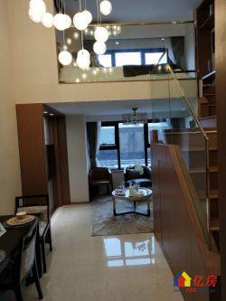宏图大道 三线地铁口 现房带天然气双层公寓 送三年车位使权