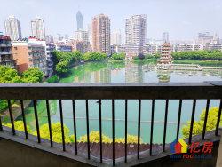 1.5万高雄路宝岛公园一线wu敌全景看湖85平两室可改三室