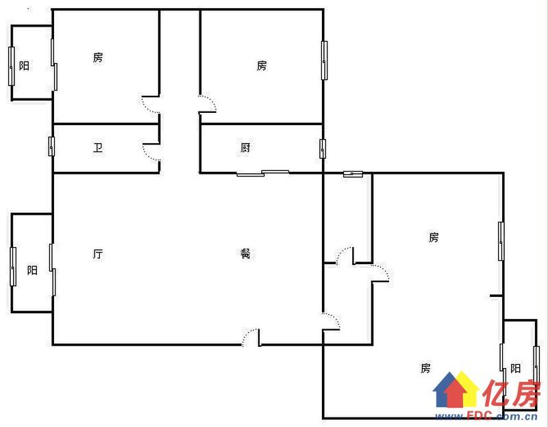 同馨花园二期 南北通透大4室 152.33㎡ 408万 老证 有钥匙,武汉硚口区宝丰解放大道586号(蓝天宾馆对面该项目1楼)二手房4室 - 亿房网