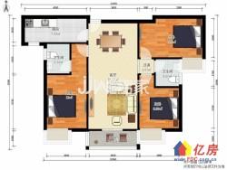 汉阳区 墨水湖 广电兰亭都荟 3室2厅2卫  121.32㎡