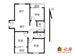 绿地名邸公馆纯毛坯2房出售  单价低于市场价 随时看房