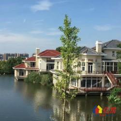 湖景独栋别墅,皇家园林,欧式建筑,环湖而居