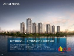 长江凯旋城官方指定代理商 免佣 专车接送 内部团购价 欢迎品鉴一线江景
