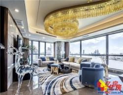 二七滨江商务区,一线江景总裁公寓,超大观景落地窗,豪横!!