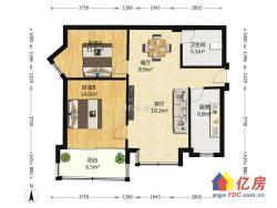 一线沙湖景观房,两房精致装修,通透户型,证齐全,随时可看房