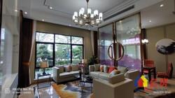 东西湖不限购湖景房!!前庭后院客厅挑高6米,皇家园林设计