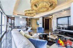 汉口内环,香港路顶级豪宅,8米宽客厅,落地观景窗,江城夜景尽收眼底