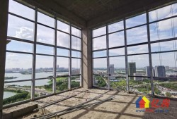 限时特惠!金银湖畔,一线湖景,双面玻璃幕墙,户型方正南北通透