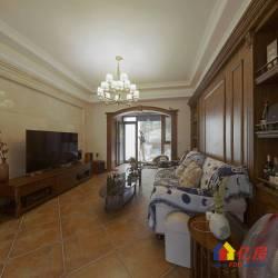 武汉天地四期两房两卫通透户型,一楼前后带两大院子