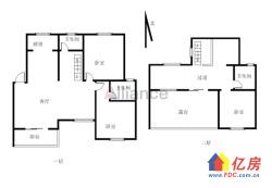 汉南区 南国江城一期 4室2厅2卫 171.37㎡100万出售