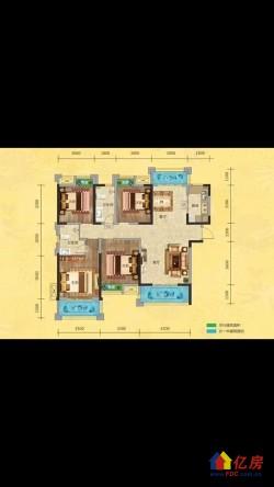 汉阳区 四新 中国中铁世纪金桥 4室2厅2卫 142.79㎡