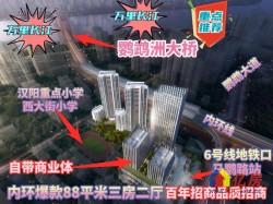 招商愉樾  汉阳核心 地铁上盖  庭院学府  精装含中央空调 地暖