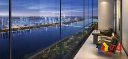 汉口二环内,建面98-143平一线江景大宅。 总价400万起进阶武汉巅峰圈层。