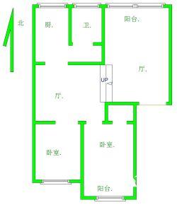 硚口区 桂苑西村 2室2厅0卫113.0㎡
