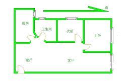 招商江湾国际电梯两房 高层 出售