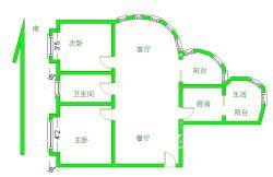 古田二路正康花园2房2厅1卫  老证满五唯一 随时看房