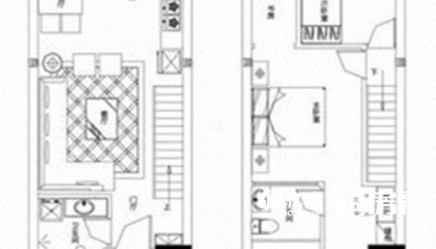 硚口区 南国大武汉 2室2厅0卫52.0㎡,武汉硚口区水厂片宗关二手房2室 - 亿房网