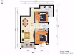 东湖高新区 世界城米兰映象 2室2厅1卫87.0㎡