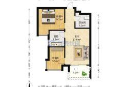 东西湖区 常青花园五小区 2室1厅1卫63.0㎡