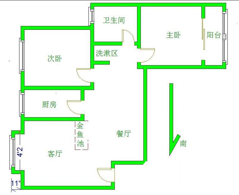 古田四路百姓之春电梯两房 老证满五唯一 随时看房,武汉硚口区古田硚口区长丰大道172号二手房2室 - 亿房网