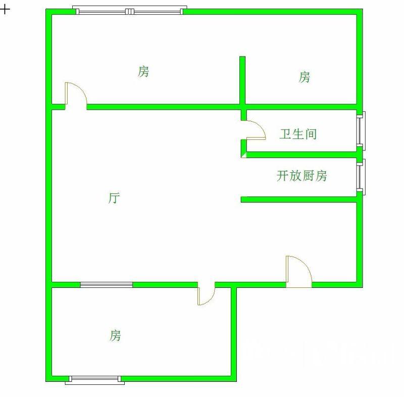 六合社区低层大两房,武汉江岸区永清中山大道1446号(二中七一中学六合路上)二手房2室 - 亿房网