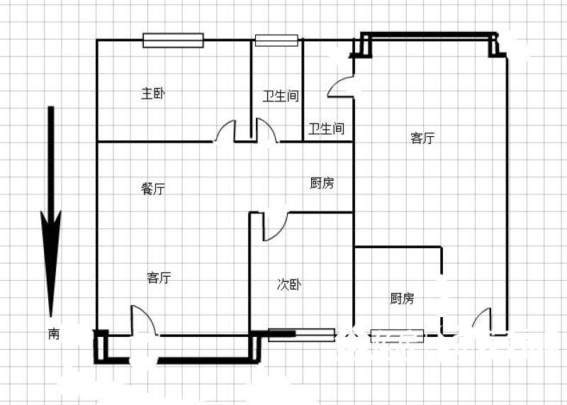 SSS香缇美景,一证买两套,超高性价比,武汉江汉区汉口火车站江汉区江达路6号二手房3室 - 亿房网