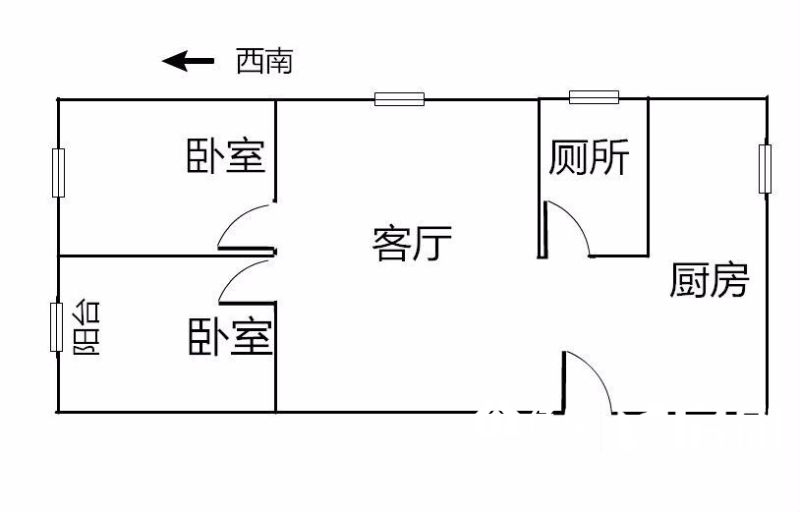 1,武汉江岸区永清永清街二中附近仁义社区二手房2室 - 亿房网