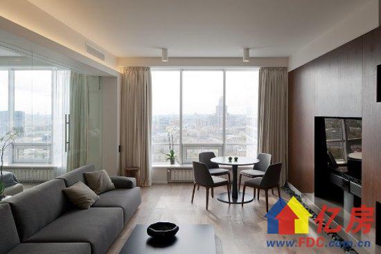 小户型设计 现代简约一室一厅 43平方.jpg