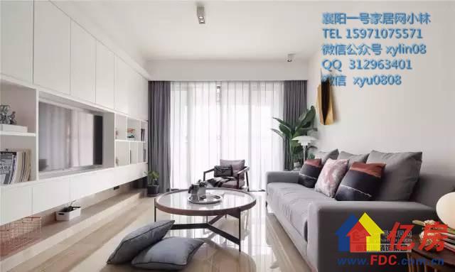 樊城区襄阳130平现代简约风格时尚大气装修案例