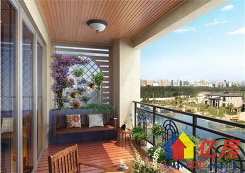 开放式的阳台颜值很高,用心装修一下,自己的阳台就会成为别人羡慕的