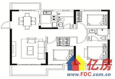 3#C户型 3室2厅2卫1厨 建筑面积:110.00㎡_看图王.jpg