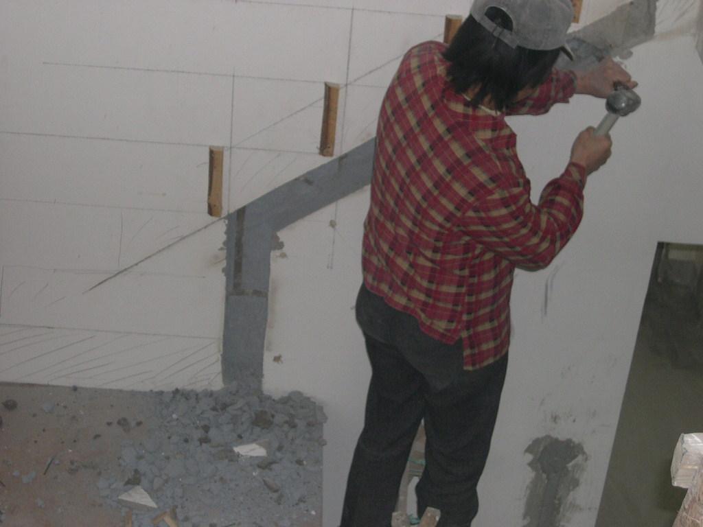 楼梯踏步装修效果图 阁楼装修日记