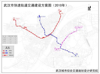 哪位知道武汉地铁四号线详细规划线路图图片