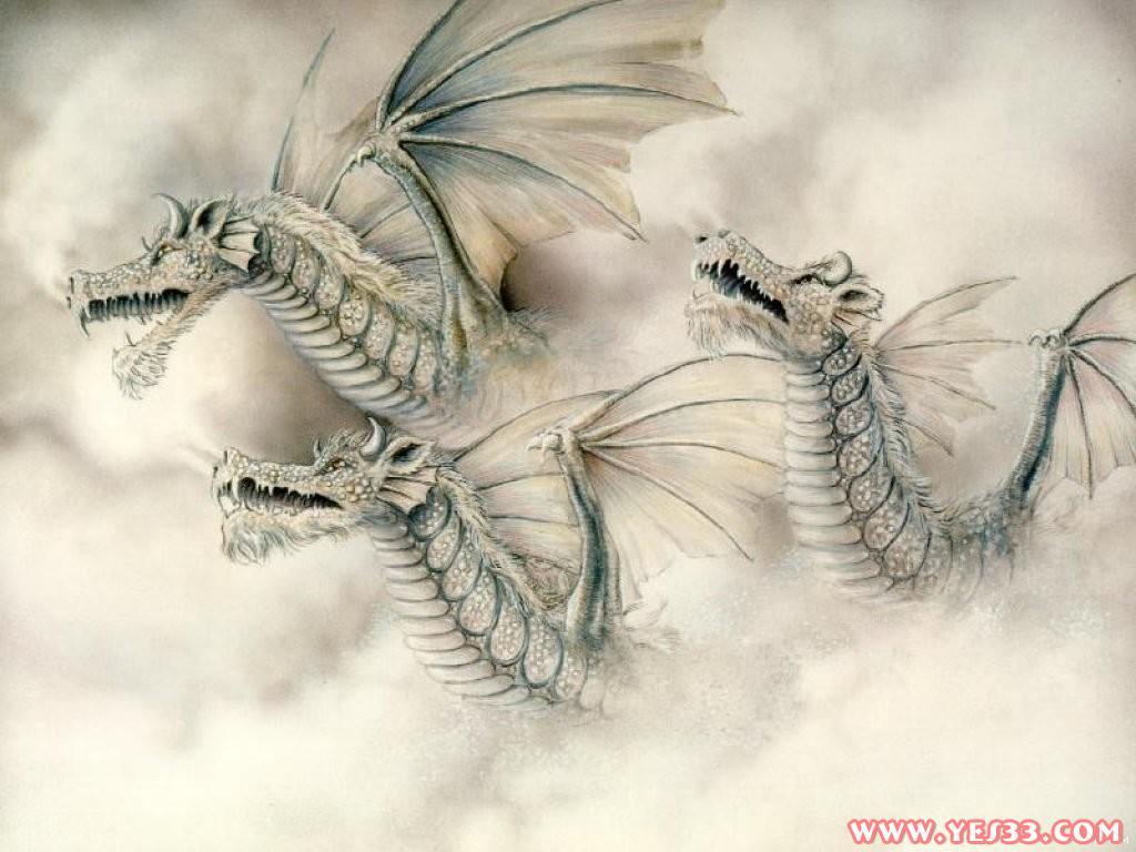 北欧神话中的巨龙!图片
