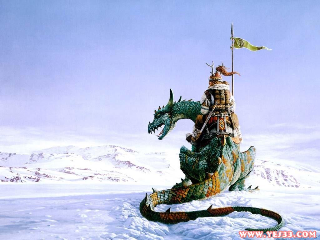 北欧神话中的巨龙!