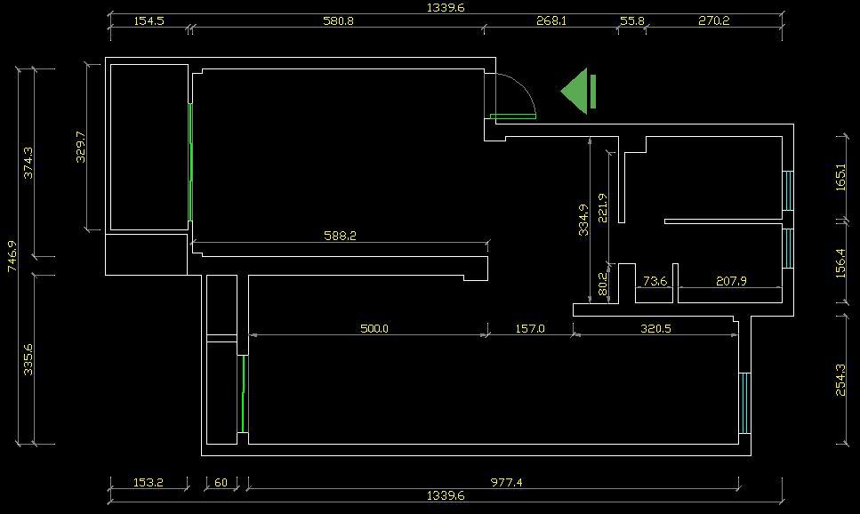 采用钢木结构+旋转楼梯