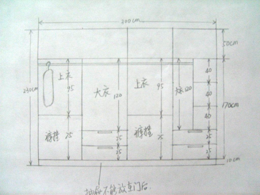 三门衣柜内部设计图,推门三门衣柜内部图,衣柜内部设计图(第14页)_点