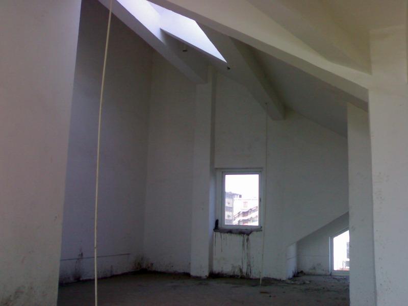 迟到的日记---坡屋顶复式 水泥橱柜柜体在14页图片