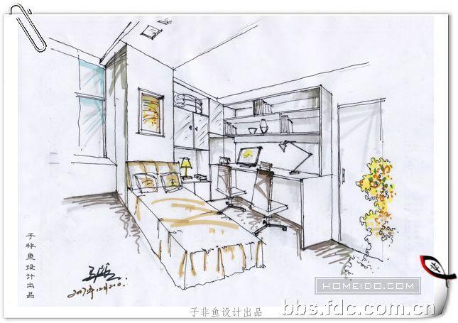 re:书房手绘