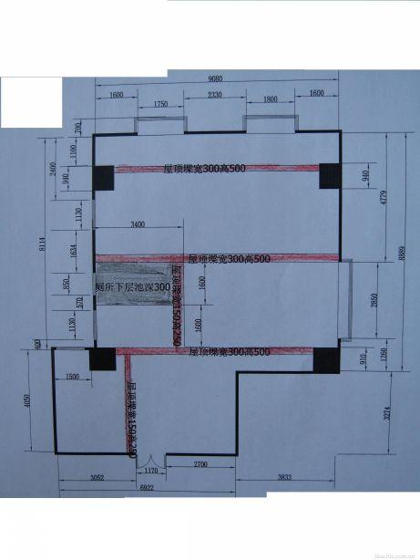 70平方房子设计平面图 房子平面设计图 农村房子设计平面图-农村80平图片